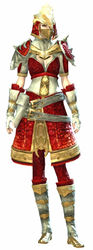 Emblazoned armor human female front.jpg