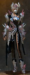 Blossoming Mist Shard armor (medium) human female front.jpg